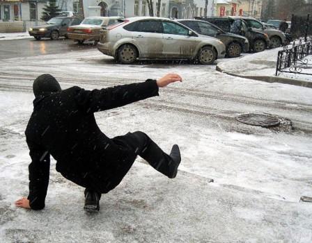 ВКирове отгололедицы пострадали неменее 120 человек