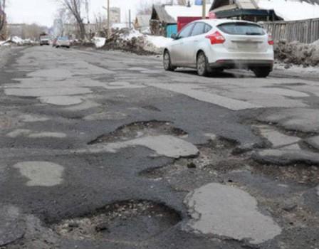 ВКирове начался ремонт аварийных участков дорог