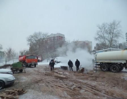 Трагедию наКомсомольской, оставившую без тепла 23 дома, обещают устранить квечеру